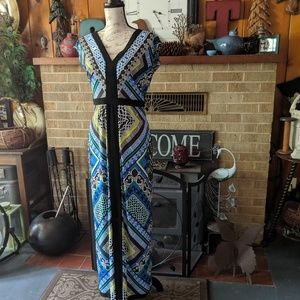Laundry maxi long dress NWT